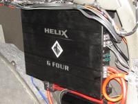 Установка усилителя Helix G FOUR в Mitsubishi Pajero Sport