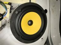 Установка акустики JL Audio C1-650 в Mitsubishi Outlander III