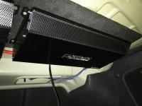 Установка усилителя Audio System R 1250.1 D в Peugeot 408