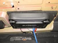 Установка усилителя Audison SR 1D в Alfa Romeo 159