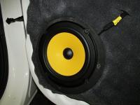 Установка акустики JL Audio C1-650 в KIA Soul