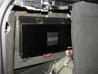 Установка усилителя Audio System R-110.4 в BMW X5 (F15)
