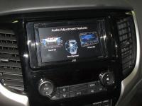 Фотография установки магнитолы JVC KW-M540BT в Mitsubishi Pajero Sport