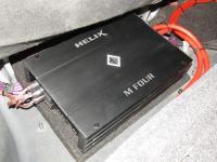 Установка усилителя Helix M FOUR в Mercedes ML (W164)