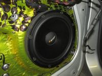 Установка акустики Eton POW 160.2 Compression в Mercedes E class (W212)