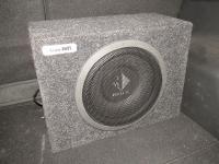 Установка сабвуфера Helix K 10W box в Mazda CX-5
