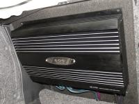 Установка усилителя E.O.S. AE-4100 LE в Subaru Impreza WRX