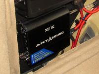 Установка усилителя Art Sound XE 1K в Mercedes ML (W164)