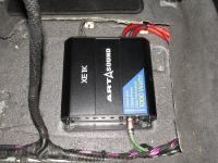 Установка усилителя Art Sound XE 1K в Toyota Land Cruiser 200
