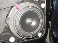 Установка акустики Eton POW 160.2 Compression в Volkswagen Touareg II NF