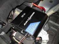 Установка усилителя Art Sound XE 1K в Infiniti FX37
