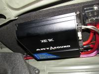 Установка усилителя Art Sound XE 1K в Mazda 3