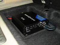 Установка усилителя Art Sound XE 1K в Infiniti QX56