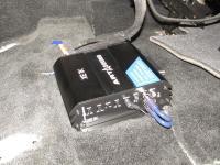 Установка усилителя Art Sound XE 1K в Toyota Sequoia