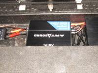 Установка усилителя Art Sound XE 1K в Subaru Impreza
