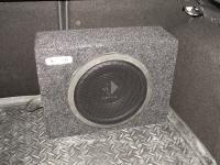 Установка сабвуфера Helix K 10W box в Ford Focus 3
