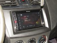 Фотография установки магнитолы Pioneer MVH-A100V в Mazda 3 (II)