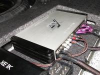 Установка усилителя ESX QE80.6DSP в Mazda 6 (III)