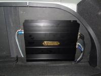 Установка усилителя DLS CA450i в Hyundai Elantra
