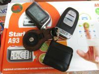 Установка StarLine A93 2CAN+2LIN GSM в Audi A4 (B8)