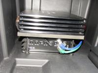 Установка усилителя Art Sound XE 1K в Infiniti QX60