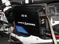 Установка усилителя Art Sound XE 1K в Lexus LX 570