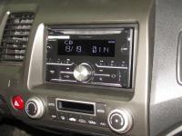 Фотография установки магнитолы Pioneer FH-X730BT в Honda Civic 4D