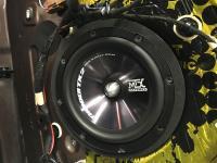 Установка акустики MTX TX265S в Peugeot 2008