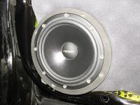 Установка акустики Eton POW 172.2 Compression в Honda Accord 9