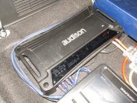 Установка усилителя Audison SR 4 в KIA Mohave