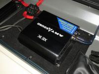 Установка усилителя Art Sound XE 1K в Infiniti QX80