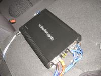 Установка усилителя Challenger PCH-760.4 в Hyundai Solaris
