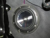 Установка акустики MTX TX265S в Nissan Note