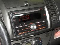 Фотография установки магнитолы Pioneer FH-X730BT в Nissan Note