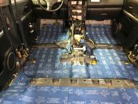 Установка Comfort Mat BlockShot в Suzuki Grand Vitara