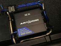 Установка усилителя Art Sound XE 1K в Suzuki Grand Vitara