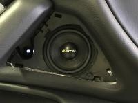 Установка акустики Eton PRW 80 в Audi A6 (C7)