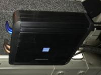 Установка усилителя Alpine MRV-M500 в Mazda 3 (III)