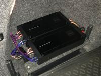 Установка усилителя Pioneer PRS-D800 в Skoda Octavia (A7)