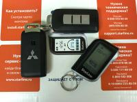 Установка StarLine A93 2CAN+2LIN GSM в Mitsubishi Pajero Sport III