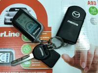 Установка StarLine A93 2CAN+2LIN GSM в Mazda CX-7