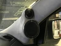 Установка акустики Brax NOX 28 в Nissan X-Trail (T31)