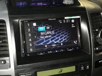 Фотография установки магнитолы Pioneer AVH-Z9100BT в Toyota Land Cruiser 120