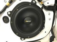 Установка акустики Eton POW 200.2 Compression в Toyota Camry V70