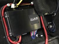Установка усилителя Audio System R-110.4 в Mitsubishi Outlander III