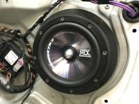 Установка акустики MTX TX265S в Skoda Octavia (A5)