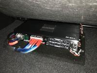 Установка усилителя Audio System M-90.4 в Suzuki Vitara