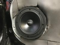 Установка акустики Eton POW 172.2 Compression в KIA Mohave