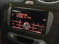 Фотография установки магнитолы Pioneer MVH-S610BT в Ford Focus 2