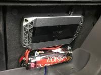 Установка усилителя Infinity Kappa K1000 в Toyota Celica